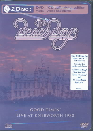 GOOD TIMIN LIVE AT KNEBWORTH ENGLAND BY BEACH BOYS (DVD)